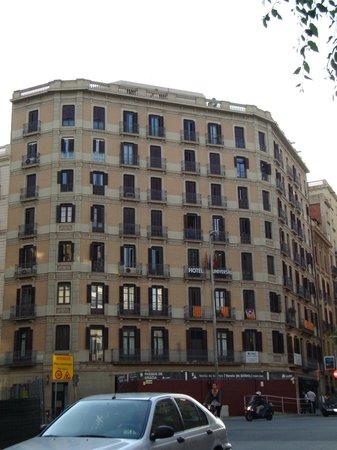 Barcelona City Hotel Universal: facciata