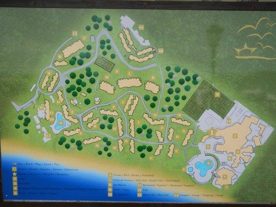 Adriana Beach Club Lageplan Der Hotelanlage Bild Von Adriana Beach