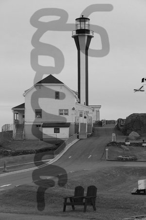 Lakelawn B&B Motel: nearby Cape Forchu lighthouse