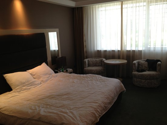 Holiday Inn Belgrade: King size bed