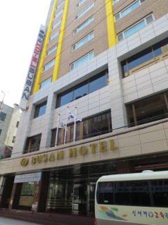 Busan Tourist Hotel: ホテル外観