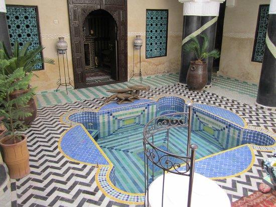 Riad El Mansour: Plunge Pool