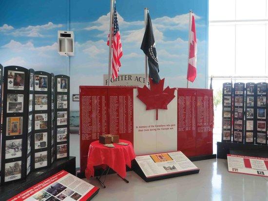 Fargo Air Museum: Canadians in Vietnam exhibit, July 2013