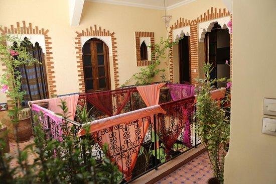 Riad Eva : 1st floor balcony