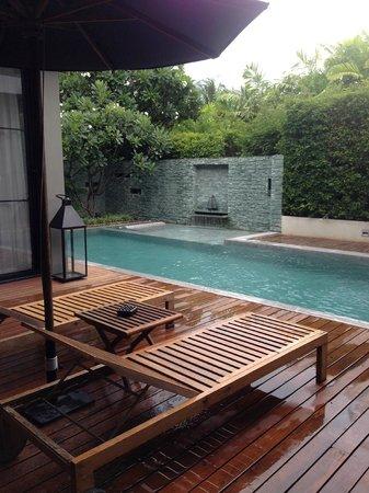 V Villas Hua Hin, MGallery by Sofitel: Our villa with private pool