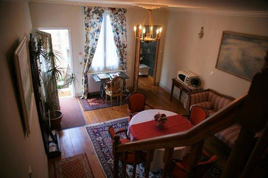Le Petit Tertre: Living area