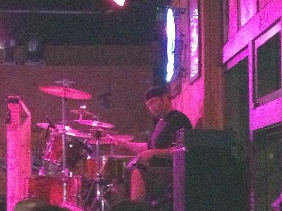 best drummer ever! - Picture of Tootsie's Orchid Lounge