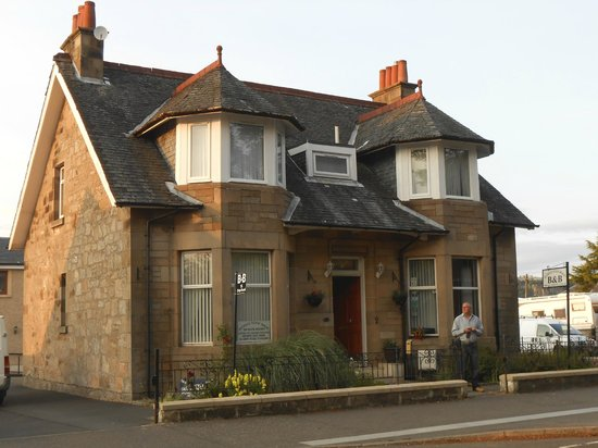The main house at Auchyle Guest House