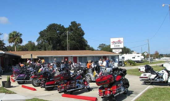 Scoot Inn Motel: Daytona HOG Ride
