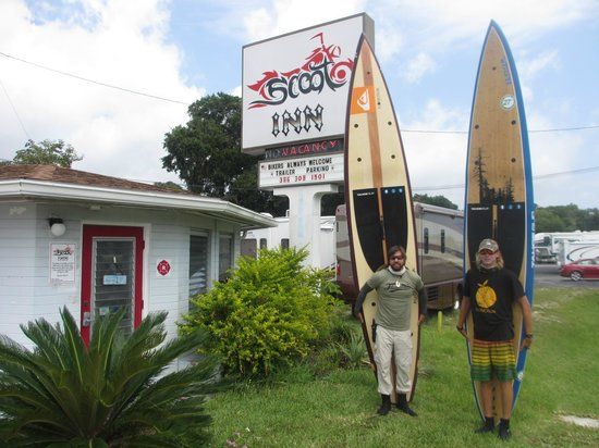 Scoot Inn Motel: Justin Riney of Expedition Florida 500