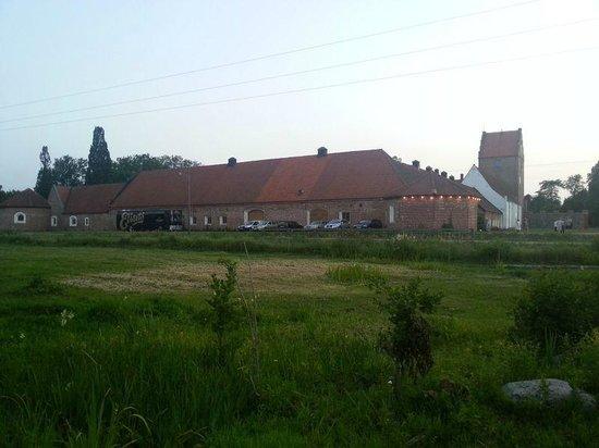 Backaskog Slott: From the road
