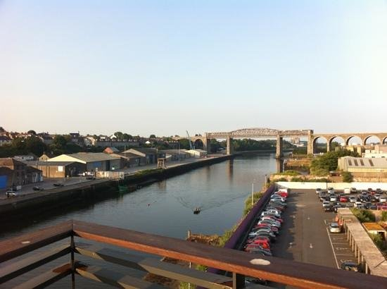 The d Hotel Drogheda: view from our balcony