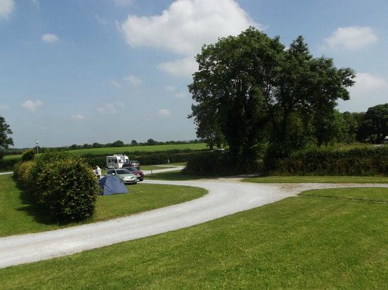 Adare Camping and Caravan Park : A view from the toilet block