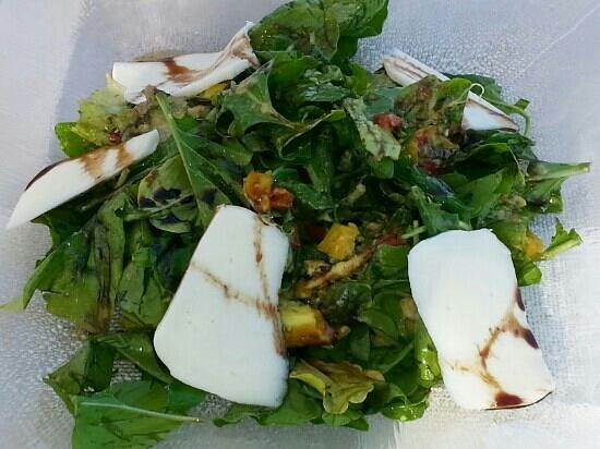 Maritim Restaurant: vegetarian salad