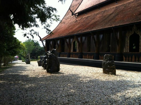 Black arts! - Picture of Baan Dam Museum, Chiang Rai - TripAdvisor