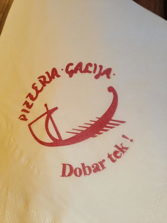 Pizzeria Galija: Cool logo