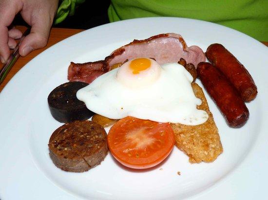 Springfield Hotel : Desayuno irlandés