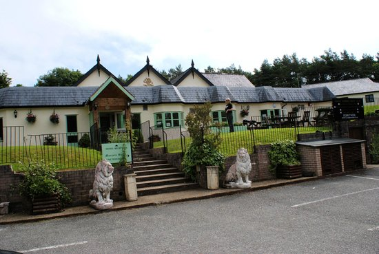 Gwesty Carreg Bran Hotel : Front view