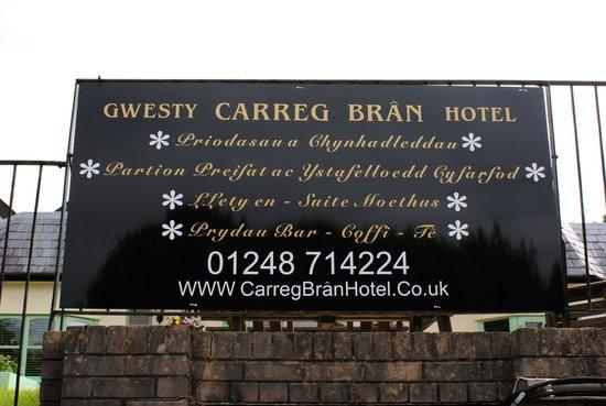 Gwesty Carreg Bran Hotel : Advert