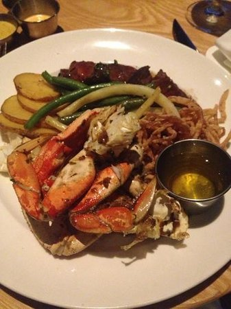Moonraker : Kobe Beef and Crab Legs