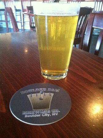 Boulder Dam Brewing Company: Beer at Boulder Dam Brewing Co.