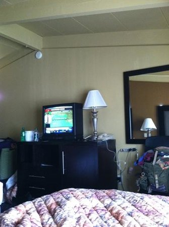 Econo Lodge Clarks Summit: room with character!