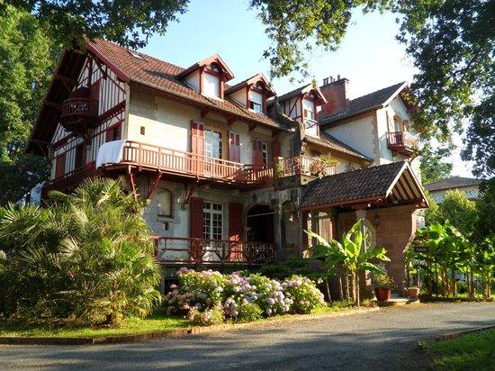 Maison d'hôtes Rosa Enia : l'entrée
