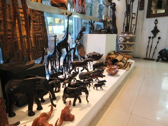 InterContinental Nairobi: African Heritage design co shop Intercontinental