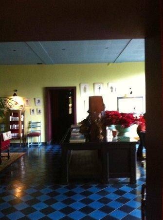 Hotel Ville d'Hiver : Reception area