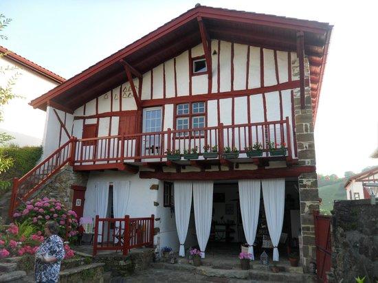 Maison Marchand : l'arrière de la maison