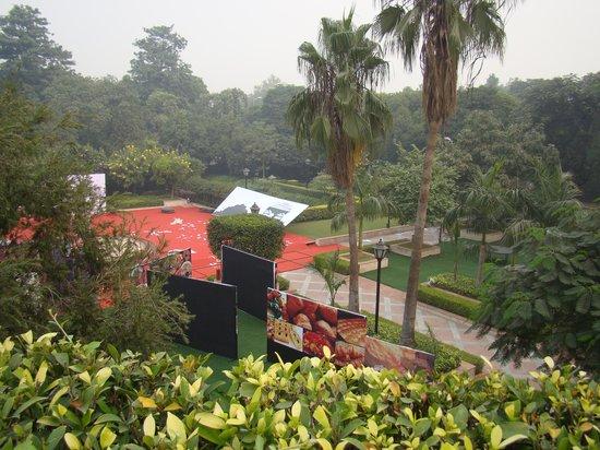 Taj Palace Hotel: vista desde la habitacion