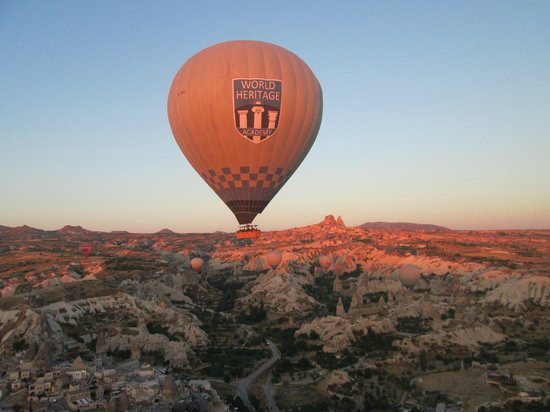 Hot air balloon - Picture of Urgup Balloons, Goreme ...