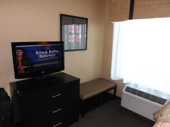 Cambria Hotel & Suites Rapid City: Bedroom TV