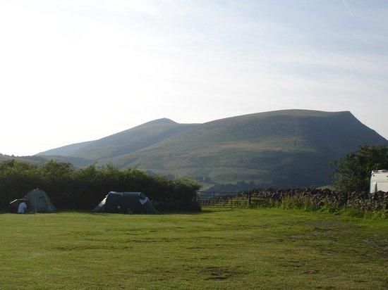 Burns Farm Caravan & Campsite: View from Burns Farm