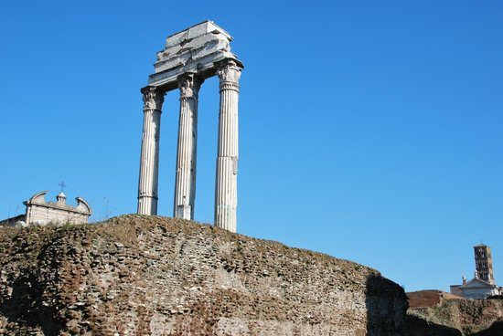 Castor und Pollux Tempel