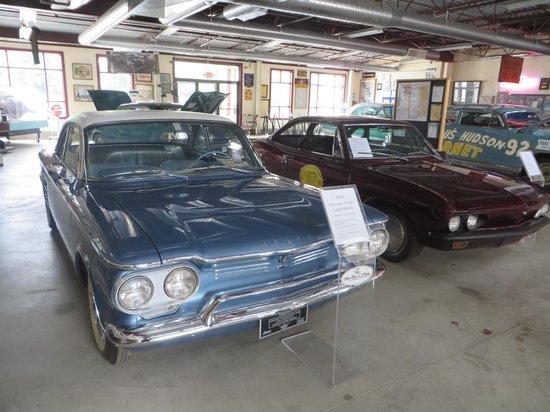 "Depot Town: ""Super"" Corvair showcar and Bonneville racer Corvair"