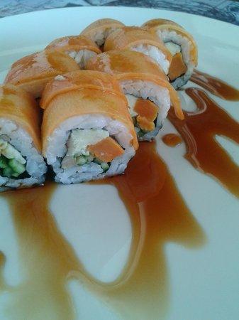 Giraffe Noodle Bar : vegetarian sushi