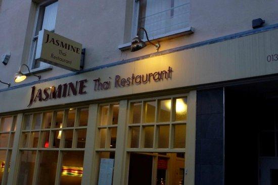 Jasmine Thai Restaurant: front