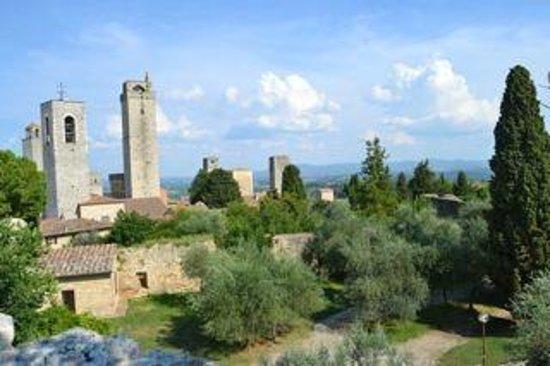 Podere Prati: S. Gimignano