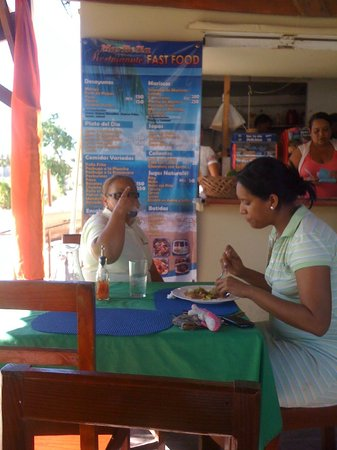 Bavaro Hostel: Nearby Eatery