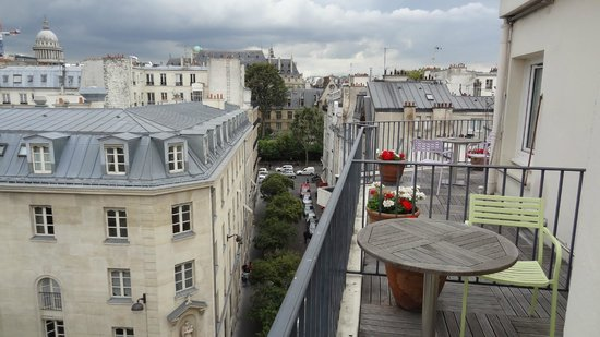 Hotel Parc St. Severin: The View from our balcony