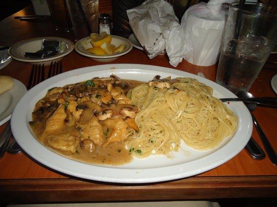 Ventano Italian Grill & Seafood: chicken marsala