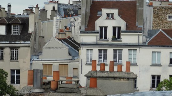 Hotel Parc St. Severin: Paris Rooftops with Chimneys