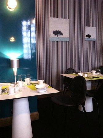 La Monnaie Art & Spa Hotel : Breakfast room
