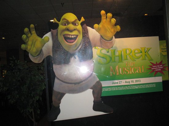 Broadway Palm Dinner Theatre : Shrek