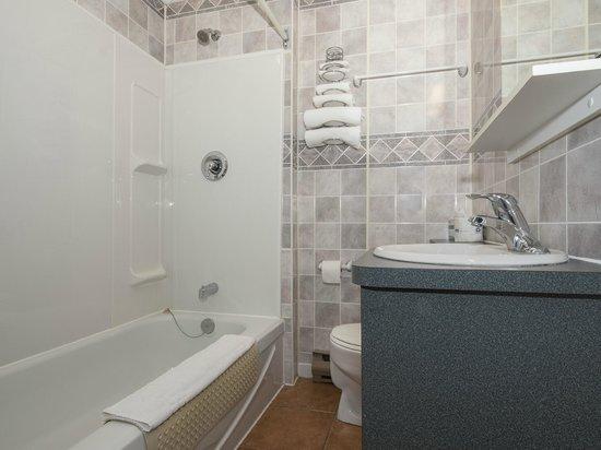 Perce Au Pic de l'Aurore: Superior room bathroom