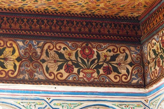 Riad Dezayn: les plafonds peints