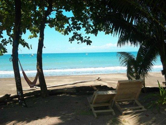 Hotel Rancho Corcovado: the beach