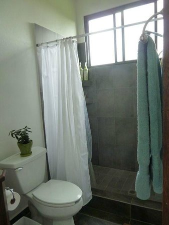 The Guest Suites at Manana Madera Coffee Estate: Shower