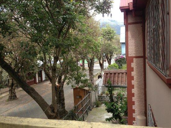 Posada Del Maple : Taken from a second floor balcony that overlooks Juan Rodriguez